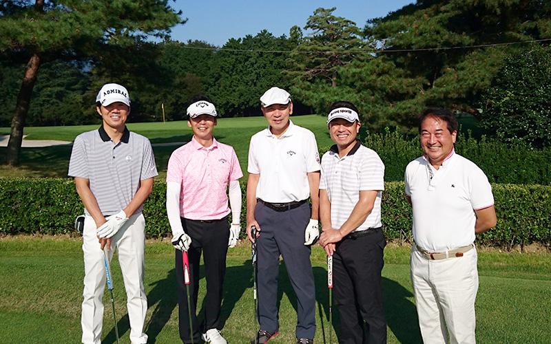 JCNN懇親ゴルフ大会(嵐山カントリークラブ)